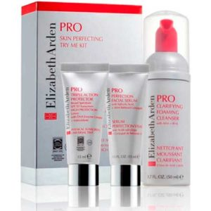 Set Elizabeth Arden Pro Sensitive Skin Try Me Kit Limpiador Facial Gentle 50 ml + Emulsión Barrier Repair Complex 15 ml + Triple Acción Protectora SPF 50 15ml