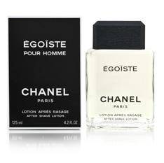 Chanel Egoiste Aftershave Locion 125 ml