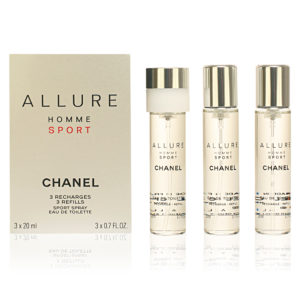 CHANEL ALLURE HOMME SPORT EDT 3 REFIL 3x20ml