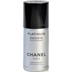 Chanel Egoiste Platinum Desodorante Spray 100 ml