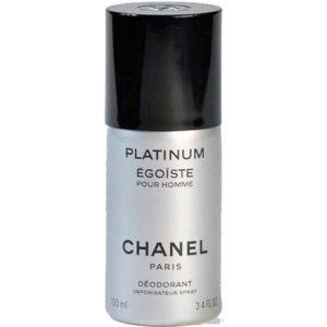 Chanel Egoiste Platinum Desodorante Spray 100 ml