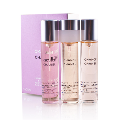 Chance Chanel Edt 3 X 20 ml Recarga