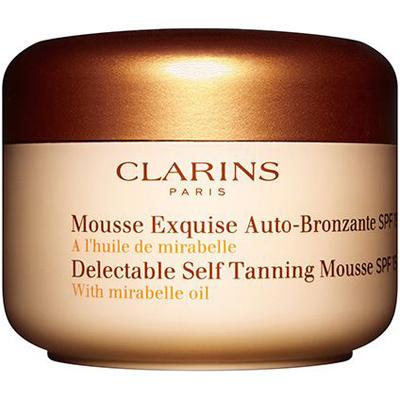 Clarins Delectable Autobronceador Mousse Spf 15 con Aceite Mirabelle