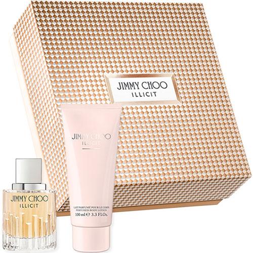 Estuche Jimmy Choo Illicit Edp 60 ml + Loción Corporal 100 ml