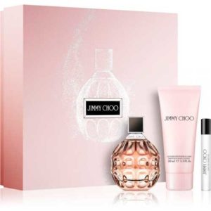 Estuche Jimmy Choo Edp 100ml + Body Lotion 50ml + Miniatura 7