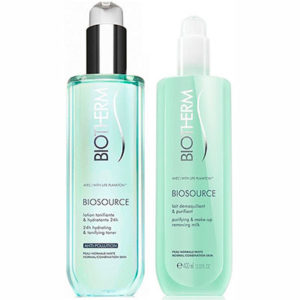 Biotherm Biosource Duo Desmaquillante Pieles Normales 400 ml