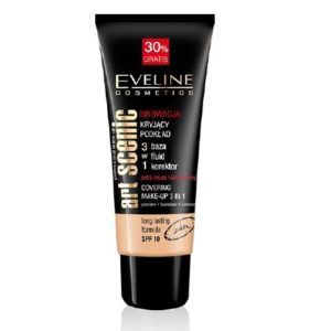 Eveline Art Scenic Base de Maquillaje 3 en 1 SPF10