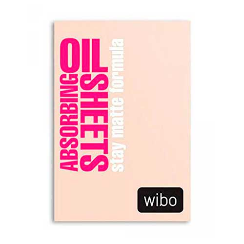 Wibo Oil Absorbing Sheets Stay Matte Formula