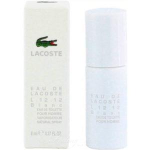 Mini Lacoste Blanc Homme Edt 8 ml