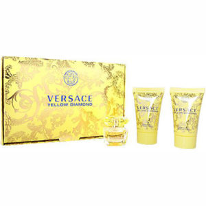 Estuche Miniatura Original Versace Yellow Diamond 5 ml Regalo Gel Ducha 25 ml + Leche Corporal 25 ml
