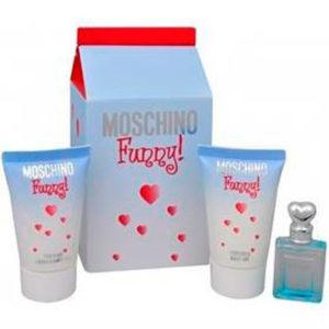 Estuche Miniatura Moschino Funny Edt 4 ml + Regalo Gel Ducha 25 ml + Gel Corporal 25 ml