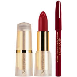 Estuche Collistar Puro Lipstick Mate + Lápiz
