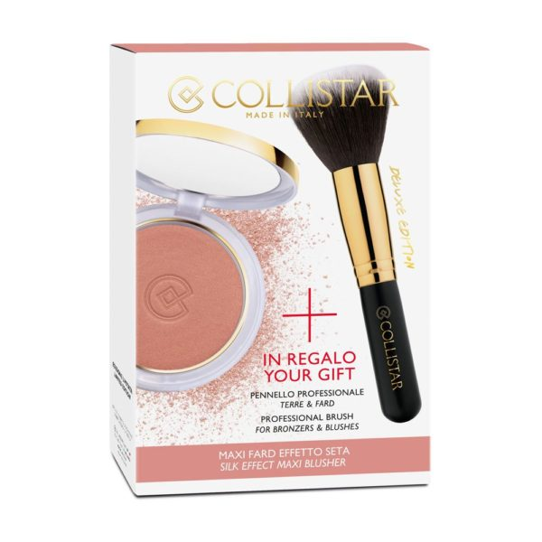 Collistar Silk Effect Maxi Blusher + Special Double Brush For Bronzers and Blushes