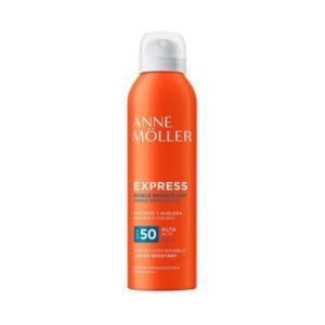 Anne Moller Expres Doble Bronceado Spray SPF 50 200 ml