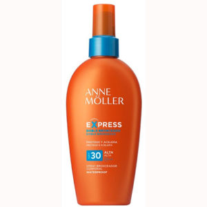 Anne Möller Bronceador Cuerpo Express Spray SPF 30 200 ml