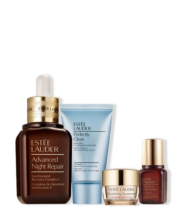 Estuche Estee Lauder Advanced Night Repair Serum + 3 Productos de regalo
