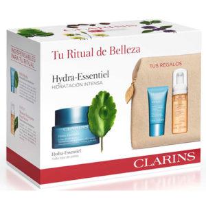Estuche Clarins Hydra Essence Piel Normal 50 ml + Regalo
