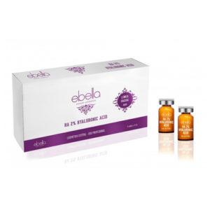 Ebella Ácido Hialurónico 2% 5 viales x 5 ml